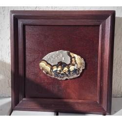 Obraz z jaspisem pejzażowym